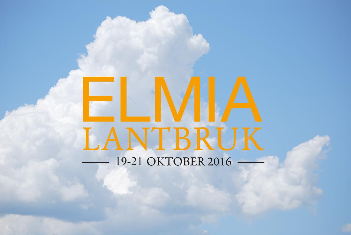 Elmia Lantbruk 19-21 oktober 2016