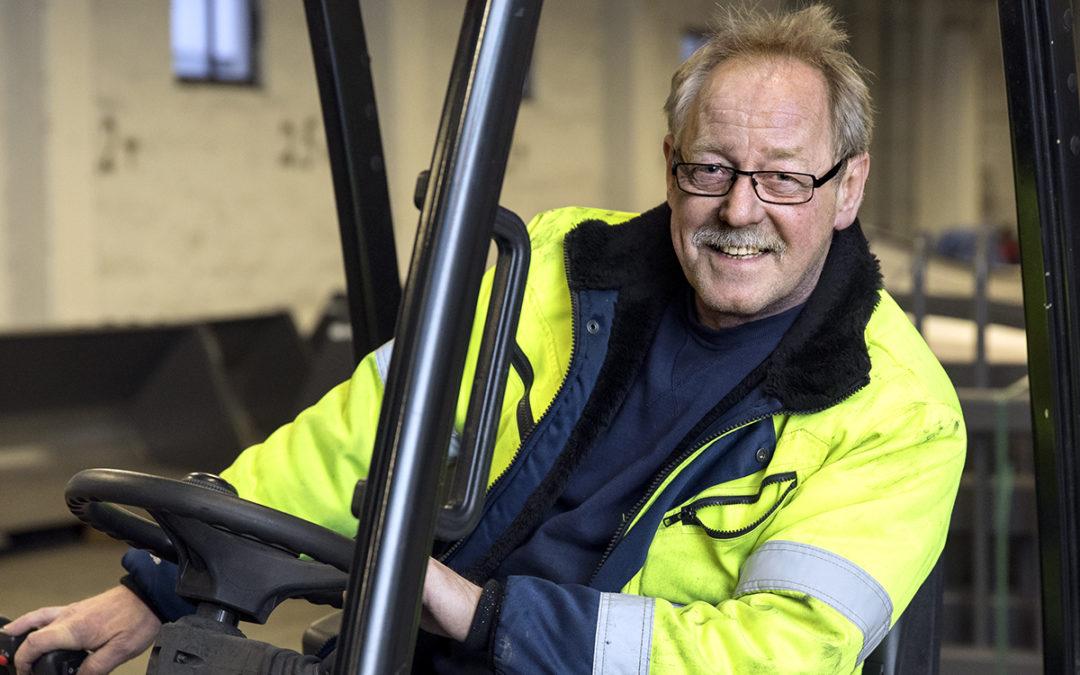 Anders har jobbat 40 år på Norje Smidesfabrik
